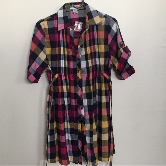 Body Central Tops - Button down top/dress